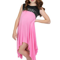 Lori & Jane Flowy Dress/Pink | Mod Angel