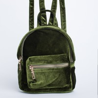Velvet Feels Mini Backpack