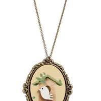 Nest for Success Necklace | Mod Retro Vintage Necklaces | ModCloth.com