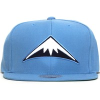 Denver Nuggets Wool Solid Snapback Hat Light Blue