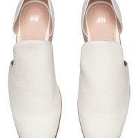 Loafers - Natural white - Ladies | H&M GB