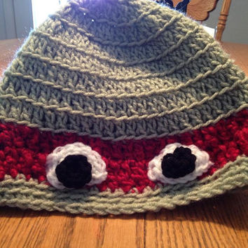Teenage Mutant Ninja Turtle Crochet Beanie by HeyICanMakeThat