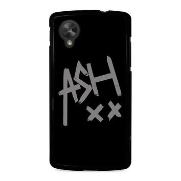 5 SECONDS OF SUMMER ASH 5SOS Nexus 5 Case Cover