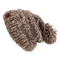 Women's Roxy 'Taos' Knit Pom Beanie - Grey