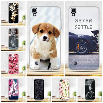 """TPU Silicone Cases For Coque LG X Power K220 K220DS LS755 Case Soft Cartoon Cover For LG X Power 5.3"""" Phone Shell For lg X Power"""