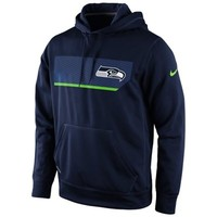 Nike Seattle Seahawks Pullover Performance Hoodie