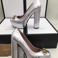 GUCCI:Fashion princess high heels