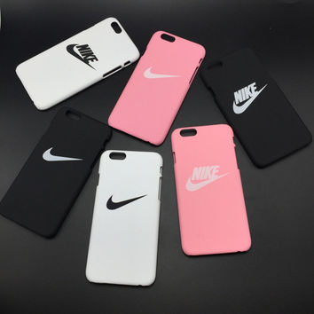 NIKE Letter Printed Case for iPhone