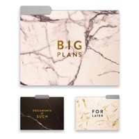 Marble File Folder Collection - Set of 9