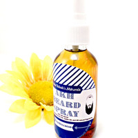 Frankincense Beard Spray, Jojoba Oil, Moroccan Argon Oil, Long Beard, Beard Growth, All Natural, Handmade, Hair Growing Oils