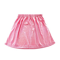 Pink Holographic Skater Skirt (LAST ONE)
