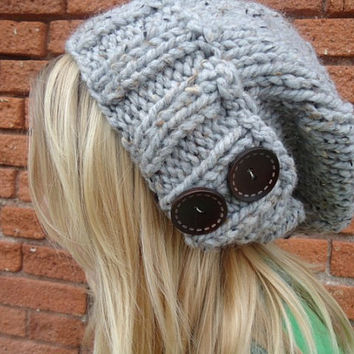 The Antoinette Slouch In Gray by Nolie9238 on Etsy