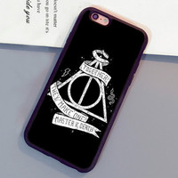 Harry Potter Logo Printed Mobile Phone Cases OEM For iPhone 6 6S Plus 7 7 Plus 5 5S 5C SE 4S Soft Rubber Skin Cover Shell OEM