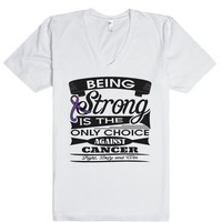 Pancreatic Cancer Being Strong Shirts