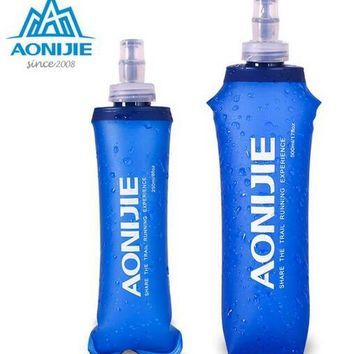 AONIJIE Silicone Water Bag Outdoor Sport Camping Climbing Folding Water Bags 170ml 500ml 250ml Drink Cycling Travel Bottles