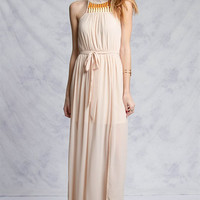 Vineyard Maxi Dress - Taupe