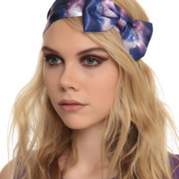 LOVEsick Galaxy Bow Stretchy Headband