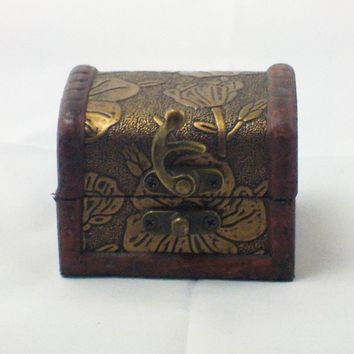Mini Wooden Treasure Box