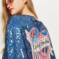 'Living The Dream' Cape | Topshop