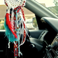 Car size mini dreamcatcher