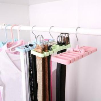 Multi-fuction Belt tie storage rack waist belt rack 22.7*7.5*10.8cm free shipping