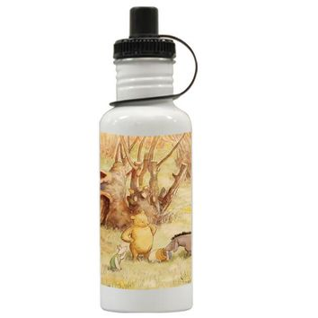 Gift Water Bottles | Classic Winnie The Pooh Aluminum Water Bottles