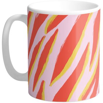 Abstract Zebra Mug