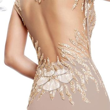 Tarik Ediz 92273 Dress - NewYorkDress.com