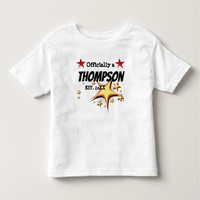 Officially a Family - Foster Adopt - New Child Toddler T-shirt