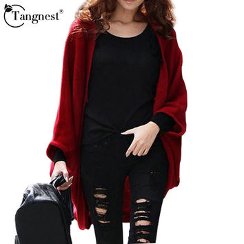 Fashion Women Casual Knitted Sweater Long Sleeve Coat Jacket