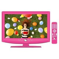 """Hello Kitty 19"""" Class 720p LCD HDTV with Remote - Pink (KT2219)"""
