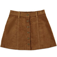 Girls Buttoned Corduroy Skirt (Kids) | Forever 21 girls - 2000164750