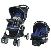 GracoComfy Cruiser Click Connect Stroller Travel System, with SnugRide ClickConnect 30 Infant Car Seat, Lively - Walmart.com
