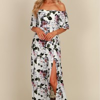 Floral Daydream Floral Gown Lavender/ Multi