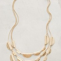 Avi Layer Necklace by Anthropologie in Gold Size: One Size Necklaces