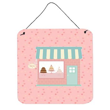 Bake Shoppe Pink Wall or Door Hanging Prints BB7269DS66
