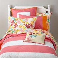 Floral Gem Duvet Cover in Duvet Covers | The Land of Nod