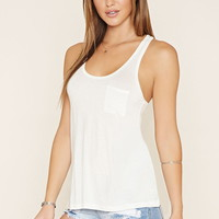 Pocket Racerback Tank
