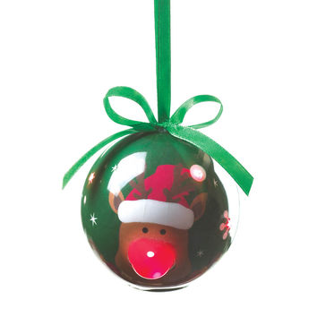 Light Up Reindeer Ornament