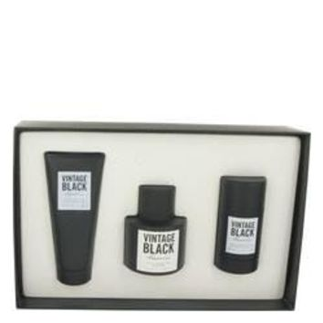 Kenneth Cole Vintage Black Gift Set By Kenneth Cole