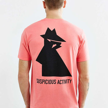 Stussy Suspicious Activity Tee - Urban Outfitters
