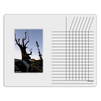 Colorado Mountain Scenery Chore List Grid Dry Erase Board by TooLoud