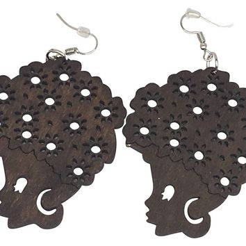 Curly Sue | Natural hair earrings | Afrocentric earrings | jewelry | accessories