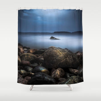 The rebel Shower Curtain by HappyMelvin