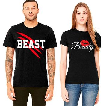 New Beast and Beauty Couple T-shirt
