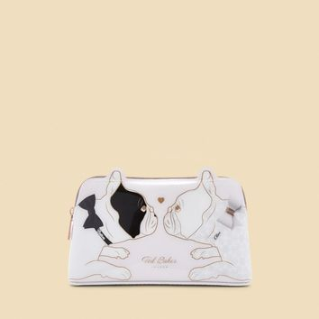 Ted Baker ARIA Cotton Dog bulldog wash bag