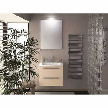 Ambra 24 in. Wall Mounted Bathroom Vanity Cabinet Set Bath Furniture