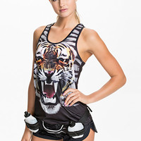 Play Tiger Two Tone Tank Top