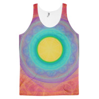 For The Love Bubble of 24 [Eye of Fire God] || Classic fit tank top (unisex) — Future Life Fashion
