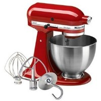 Amazon.com: KitchenAid 4-1/2-Quart Ultra Power Stand Mixer, Empire Red: Kitchen & Dining